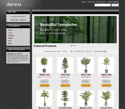 View a demo of the harper Template Package