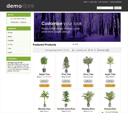 View a demo of the imbler Template Package