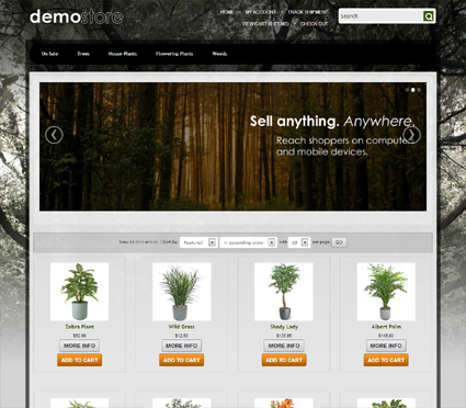 View a demo of the kerry Template Package