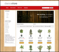 Get the SHERWOOD shopping cart template