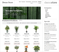 Get the TRENT shopping cart template